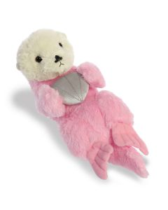 12'' Plush Pink Sea Otter
