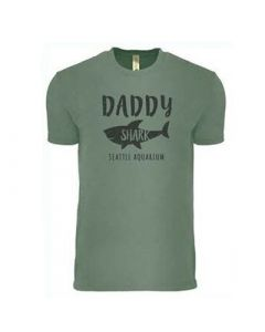 Mens Daddy Shark Tee